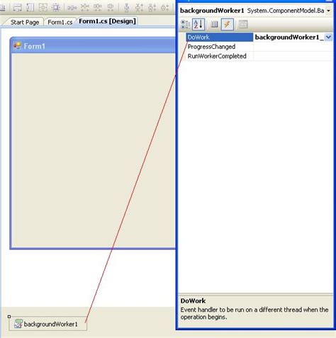 tutorial of asp net with c sharp background worker control using c