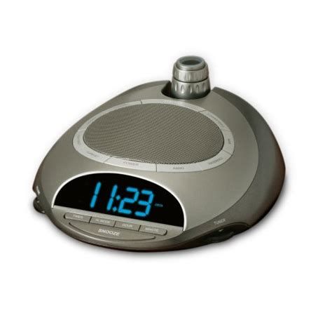 homedics ss 4500 soundspa classic clock radio silver alarm clocks