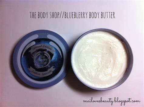 Blueberry Butter 200ml new in the shop blueberry scrub butter