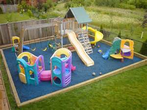outdoor playground s home daycare