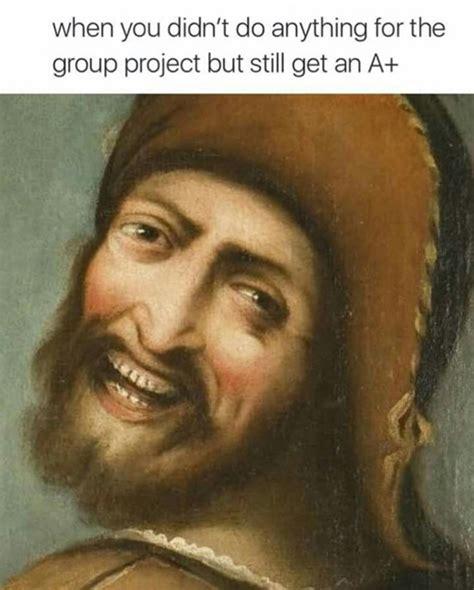 Painting Meme - classic paintings as memes