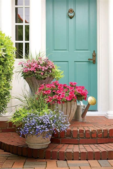 Front Door Potted Plants 17 Best Ideas About Front Door Plants On Front Door Planters Front Porch Planters