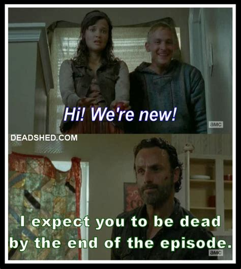 Walking Dead Rick Meme - get out of here carl the twd memes lols thread page 13