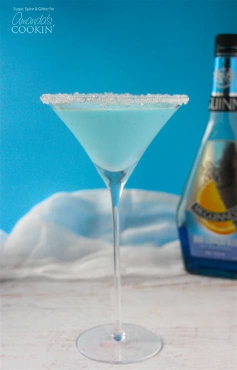 Blended Frostbite Martini A Frosty Winter Or Drink