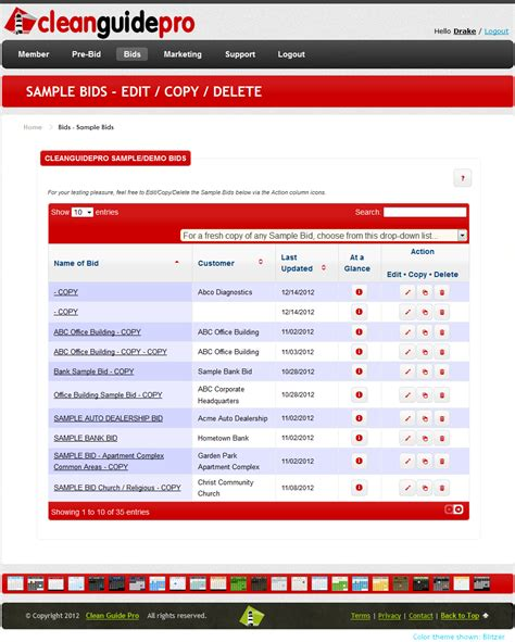 bid on cleanguidepro 183 janitorial bidding software 183 janitorial
