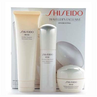 Swiss Army Exclusive Box Set 3 In 1 Hitam Jam Tangan Murah shiseido traveller s exclusive hydrating ibuki daily care set