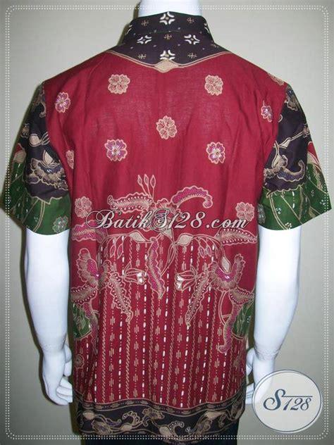 Gamis Batik Tulis Hijau kemeja batik pola baju batik tulis motif modern hijau