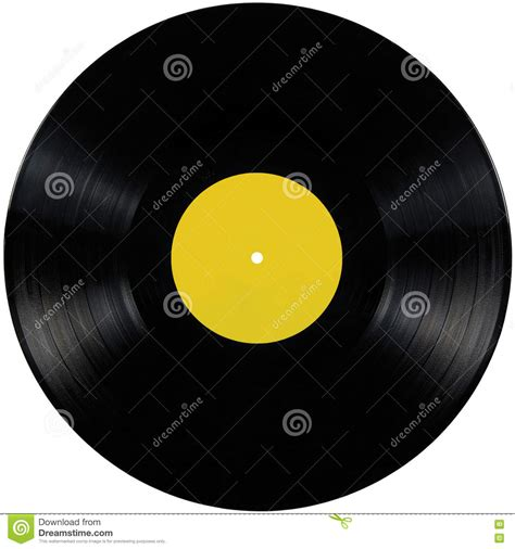 blank printable vinyl black vinyl record lp album disc isolated long play