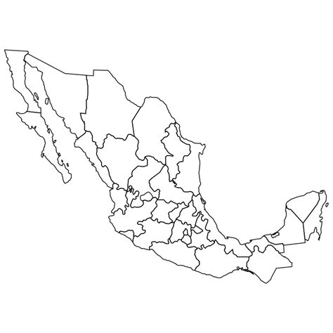 coloring page mexico map free coloring pages of map of mexico