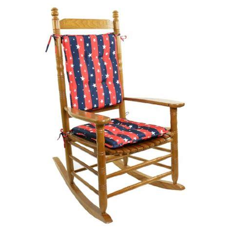 Cracker Barrel Rocking Chair Cushions - americana rocking chair cushion set cushions pillows