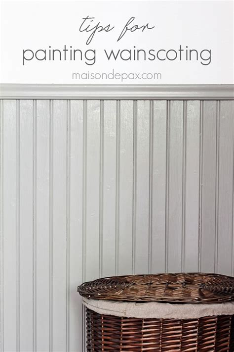 Wainscoting Painting by Best 25 Painted Wainscoting Ideas On Trim