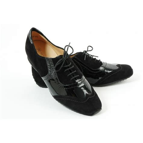 flat shoes lace up kaiser rosana flat lace up shoes in black flat