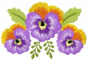 Flowers Free Machine Embroidery Designs Machine