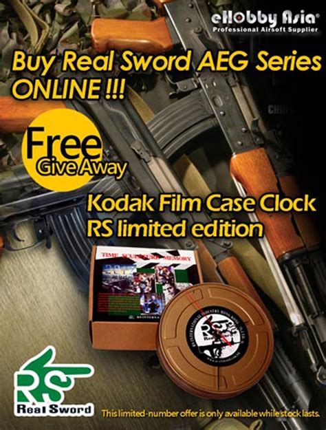 Real Free Giveaways - real sword free giveaway at ehobby asia popular airsoft