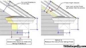 Roof Cornice Detail Eave Returns Interpreting Gyhr Details Thisiscarpentry