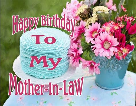 happy birthday mother  law wishes  quotes
