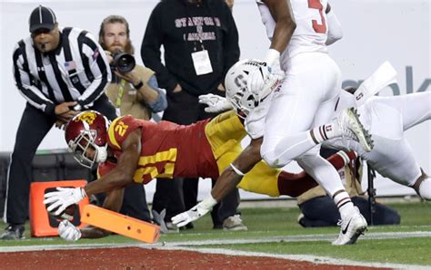 555 football facts to young receivers boost usc in late season surge redlands