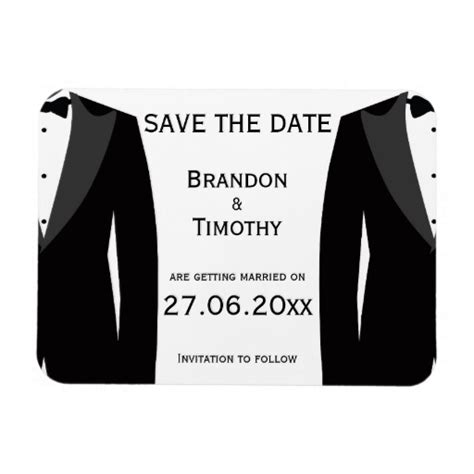 Gay marriage save the date cards