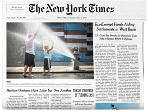 New York Times Front Page Newspaper | gt newspaper front page new york times wallpapersskin