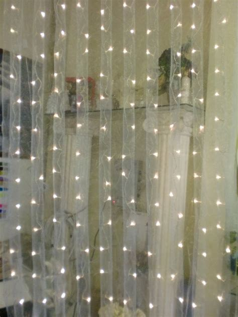 Tanday Organza Led Curtain Lights 12018 By Tanday On Etsy Curtain Of Lights