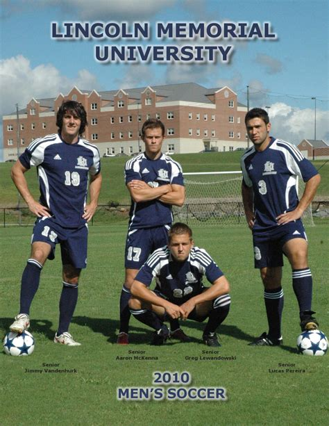 lincoln memorial soccer 2010 lmu s soccer guide by lmu sports information issuu