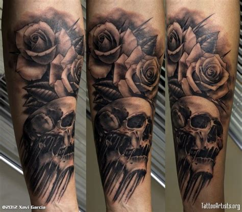 trapezius tattoo 3d skull tattoos 3d tattoos design