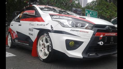 Car Modification For Rally by Racing Style All New Yaris Modification Rally Car