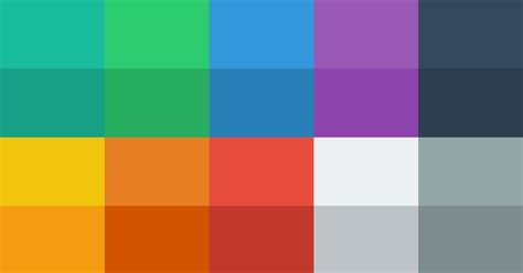 modern colors flat ui colors color pallette from flat ui theme