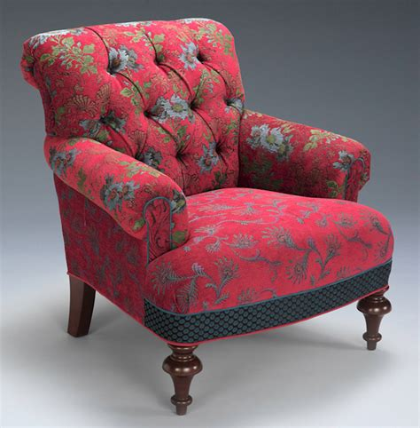 armchair upholstery fabric middlebury chair in red wine by mary lynn o shea upholstered chair artful home