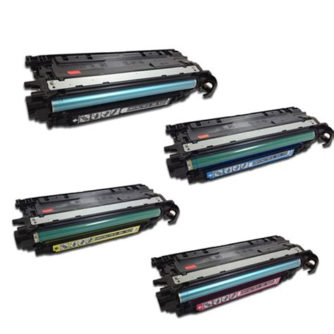 hp color laserjet cp4525 hp color laserjet cp4025 cp4525 4 color laser toner set