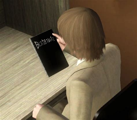 sims 4 death note cc mod the sims death note