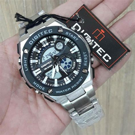 Jam Tangan Digitec 3039 Dual Time 8 rekomendasi jam tangan pria untuk travelling