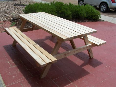 picnic tables for sale home picnic tables hand made wooden outdoor tables made from