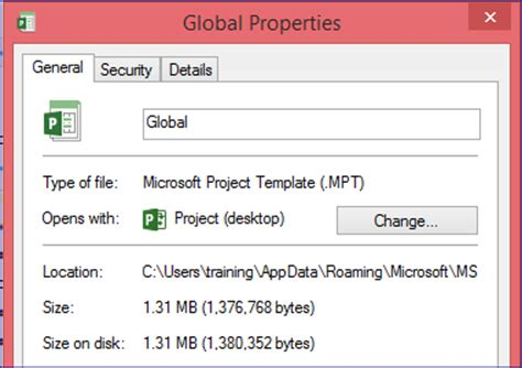 Ms Project 2013 Templates How To Find And Set The Default Location Microsoft Office Microsoft Project 2013 Templates