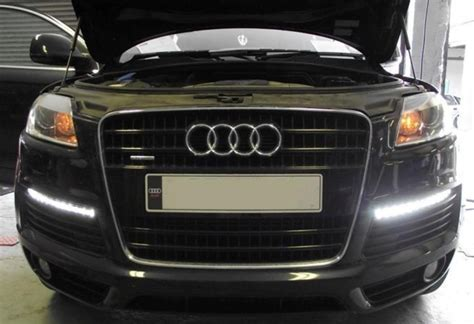 audi q7 led lights drl daytime running lights the shop