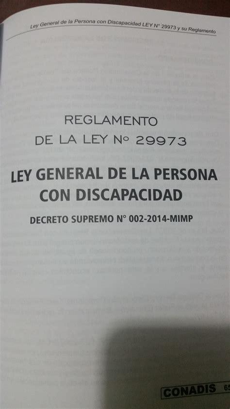 ley de discapacidad 2016 aranceles cuotas de las personas con discapacidad blog de luis