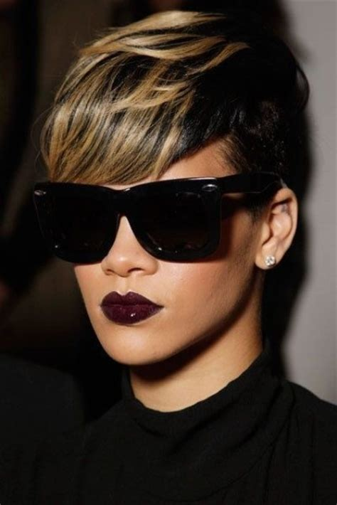 5 captivating short wavy hairstyles for african americans women 5 captivating short mohawk haircuts with highlights