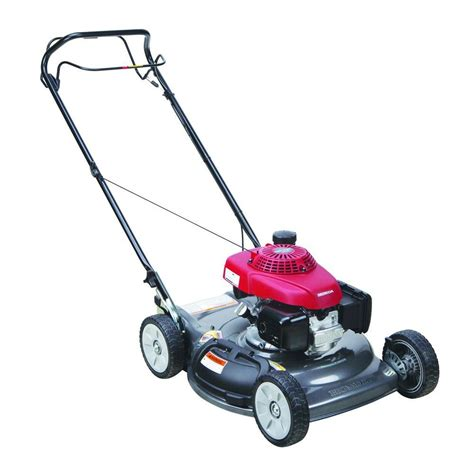 honda 21 in single speed gas self propelled mower