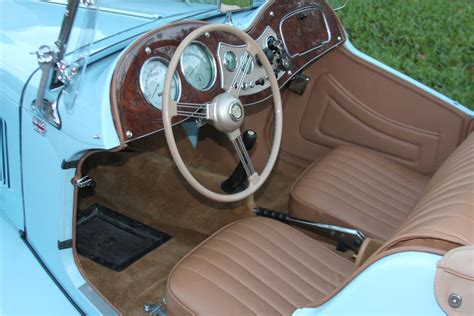 Mg Interior by 1951 Mg Td Convertible 170846
