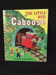 The Little Red Caboose Little Golden Book 2002 5th