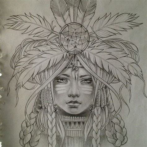 native american girl tattoo american indian ink beautiful
