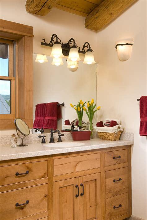 Designing A Bathroom Floor Plan by Log Home Bathrooms 171 Real Log Style