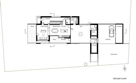 Floor Plan View gallery of atriumhaus am waldrand kleboth lindinger