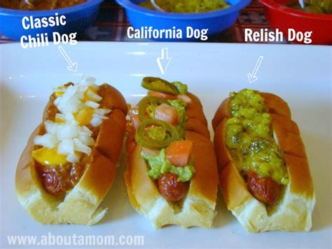 hot dog bar toppings list hot dog bar grilling party about a mom