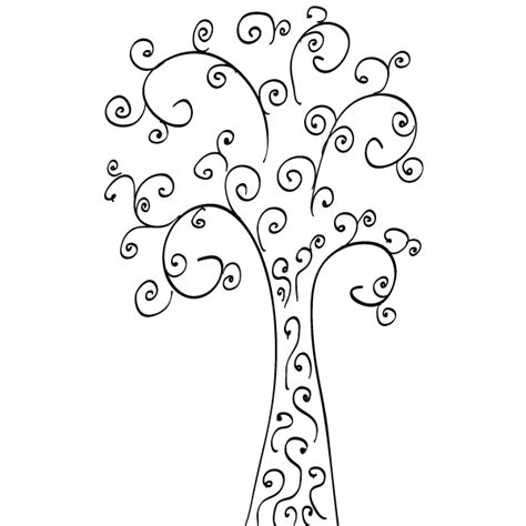 free vector graphics clipart vector clip curly tree free vector