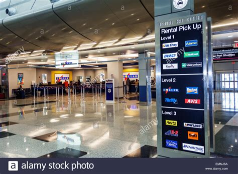 Rental Car Miami Port miami florida miami international airport rental car center stock photo royalty free image