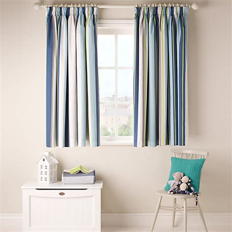 Blue Blackout Curtains Blue Pinstripe Curtains Images