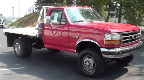 flat bed for sale for sale 1995 ford f 350 xlt flat bed dually 4x4 only 113k miles stk p5762b www