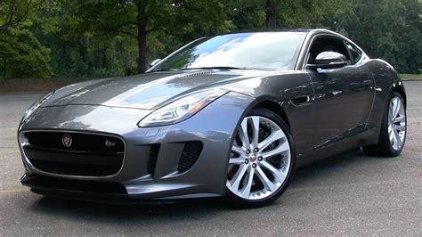 jaguar f 6 2016 jaguar f type s coupe 6 spd manual start up road