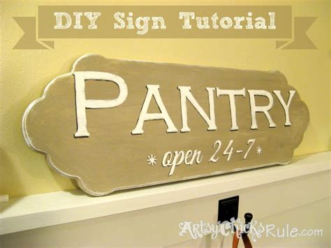 chalk paint diy sign easy diy pantry sign tutorial chalk paint graphics